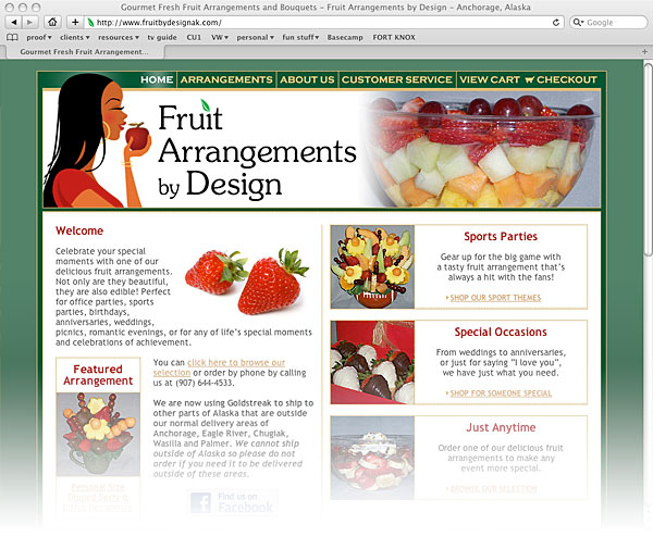 Fruit Arrangements by Design