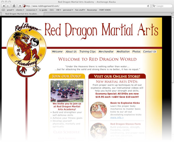 Red Dragon Martial Arts Academy